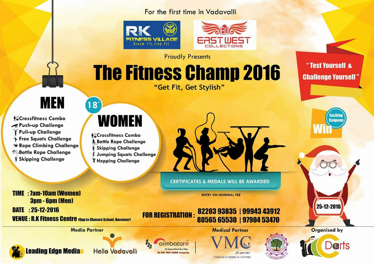 The Fitness Champ 2016